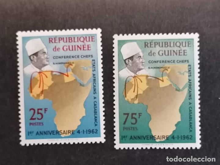 Sellos: Reunion Estados Africanos sellos serie año 1962 Guinea Bissau sellos en nuevo *** - Foto 2 - 284430643
