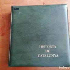 Sellos: ÁLBUM DE SELLOS HISTORIA DE CATALUÑA. Lote 285442638