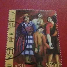 Sellos: SELLO NACIONES UNIDAS (VIENA) MTDO/2000/50ANIV/COMISIONADO/REFUGIADOS/TRAJES/TIPICOS/CONSTUMBRES/F. Lote 288016438