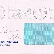 Sellos: AÑO 1990, 490 ANIVERSARIO DE LA LLEGADA DE COLON A LAS ISLAS CANARIA RODILLO DE LAS PALMAS. Lote 294820578