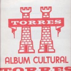 Sellos: SUPLEMENTO DE HOJAS PARA SELLOS 2009 (1ª PARTE) TORRES. SIN MONTAR.. Lote 17423418