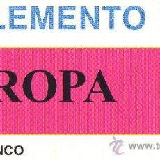 Sellos: EDIFIL. SUPLEMENTO EUROPA - 2010 MN SELLOS. Lote 30060841