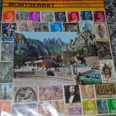 Sellos: SELLOS DIFERENTES DE ESPAÑA Y POSTAL DE MONTSERRAT.. Lote 33911590