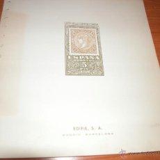 Sellos: ESPAÑA HOJAS EDIFIL USADAS NUM. 153-191. Lote 39717870