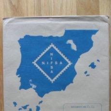 Sellos: HOJAS DE SUPLEMENTO AÑO 1990 NIFSA,MONTADAS EN ESTUCHES NEGROS, VER FOTOS. Lote 40012118