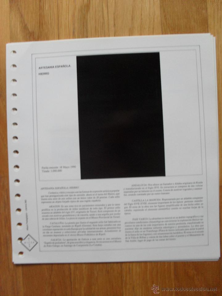 Sellos: HOJAS DE SUPLEMENTO AÑO 1990 Nifsa,Montadas en estuches negros, VER FOTOS - Foto 2 - 40012118