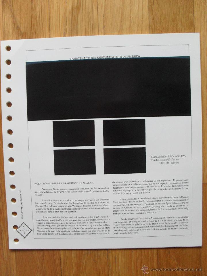 Sellos: HOJAS DE SUPLEMENTO AÑO 1990 Nifsa,Montadas en estuches negros, VER FOTOS - Foto 7 - 40012118