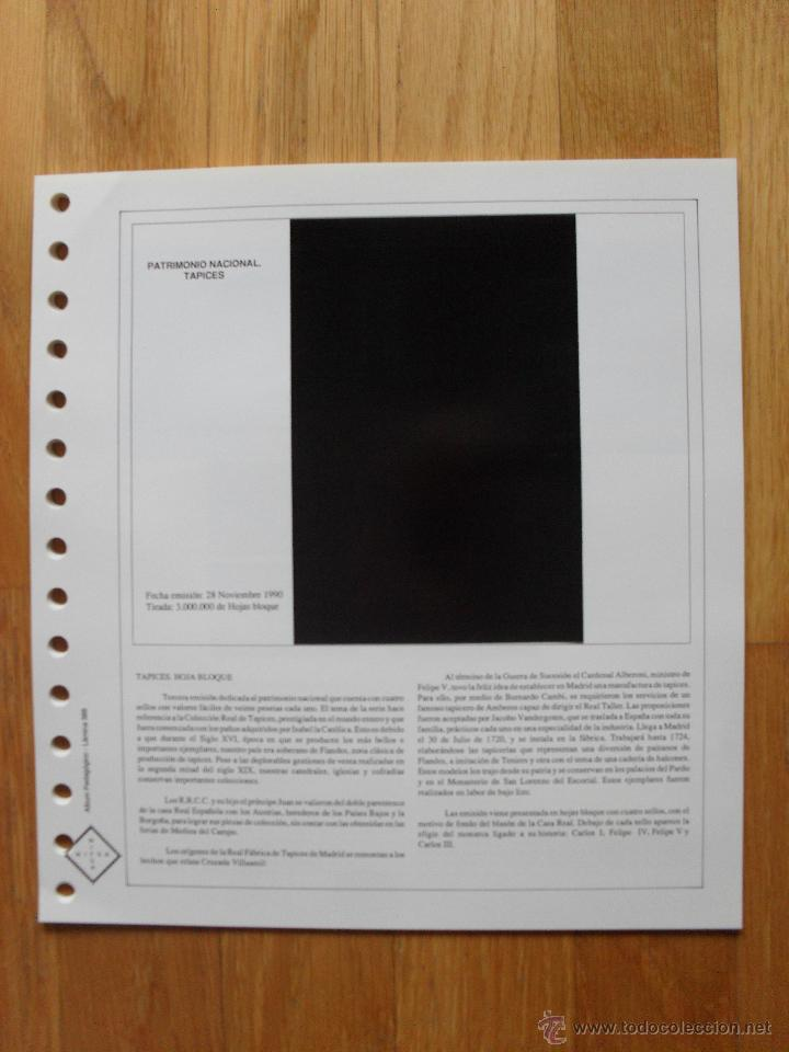 Sellos: HOJAS DE SUPLEMENTO AÑO 1990 Nifsa,Montadas en estuches negros, VER FOTOS - Foto 8 - 40012118