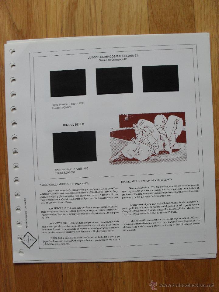 Sellos: HOJAS DE SUPLEMENTO AÑO 1990 Nifsa,Montadas en estuches negros, VER FOTOS - Foto 11 - 40012118