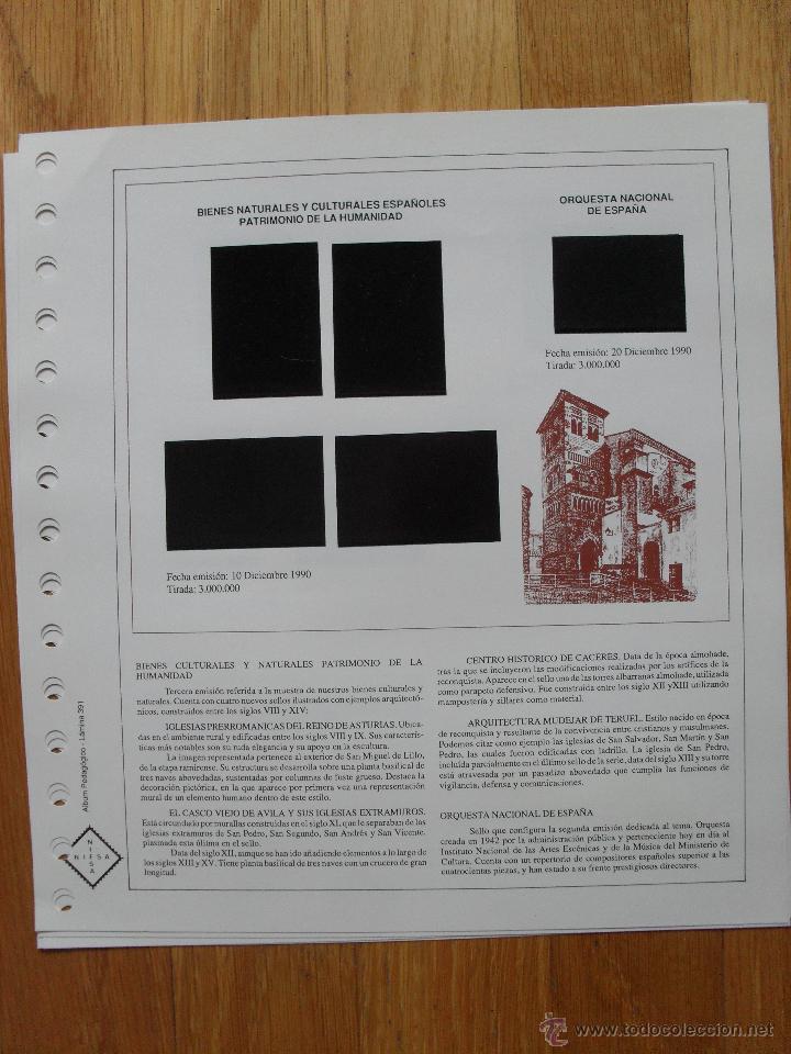 Sellos: HOJAS DE SUPLEMENTO AÑO 1990 Nifsa,Montadas en estuches negros, VER FOTOS - Foto 15 - 40012118