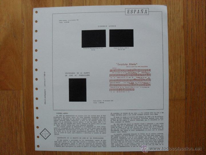 Sellos: HOJAS DE SUPLEMENTO AÑO 1981 Nifsa, Montadas en estuches negros VER FOTOS - Foto 2 - 40013999