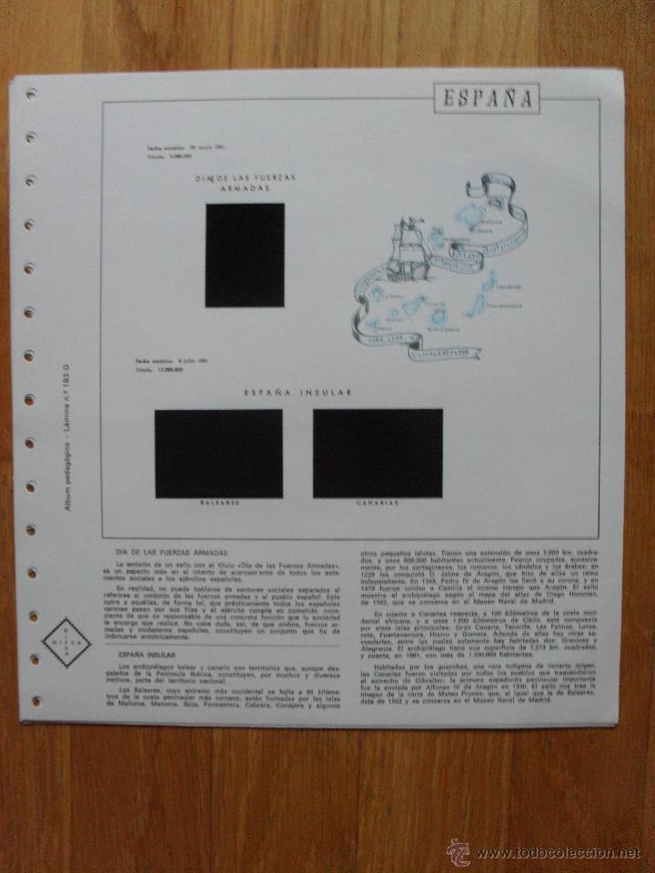 Sellos: HOJAS DE SUPLEMENTO AÑO 1981 Nifsa, Montadas en estuches negros VER FOTOS - Foto 4 - 40013999