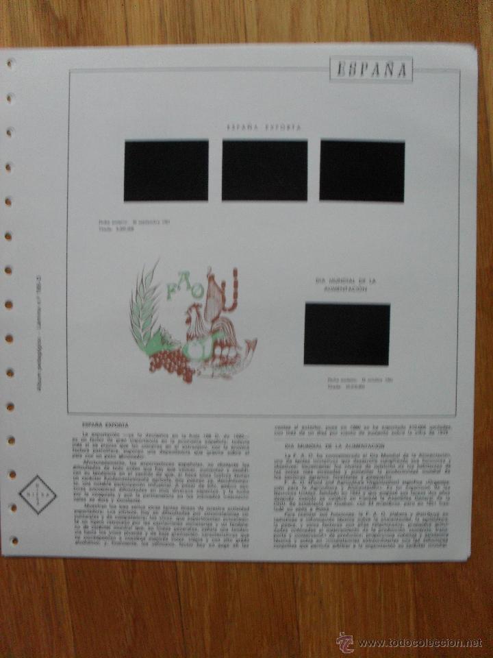 Sellos: HOJAS DE SUPLEMENTO AÑO 1981 Nifsa, Montadas en estuches negros VER FOTOS - Foto 6 - 40013999