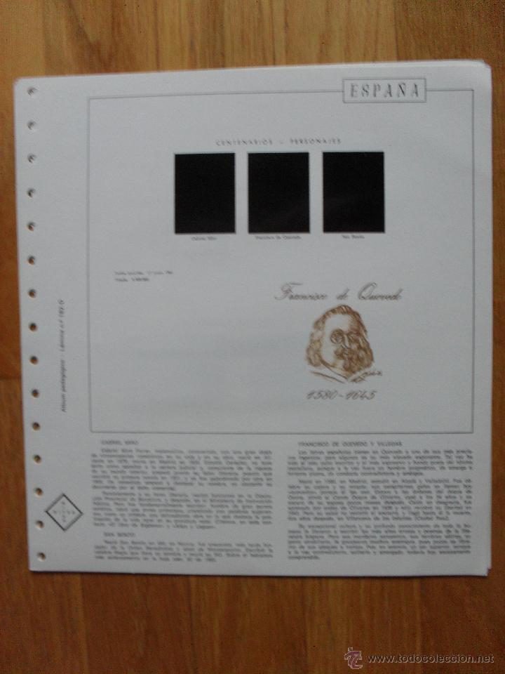 Sellos: HOJAS DE SUPLEMENTO AÑO 1981 Nifsa, Montadas en estuches negros VER FOTOS - Foto 7 - 40013999