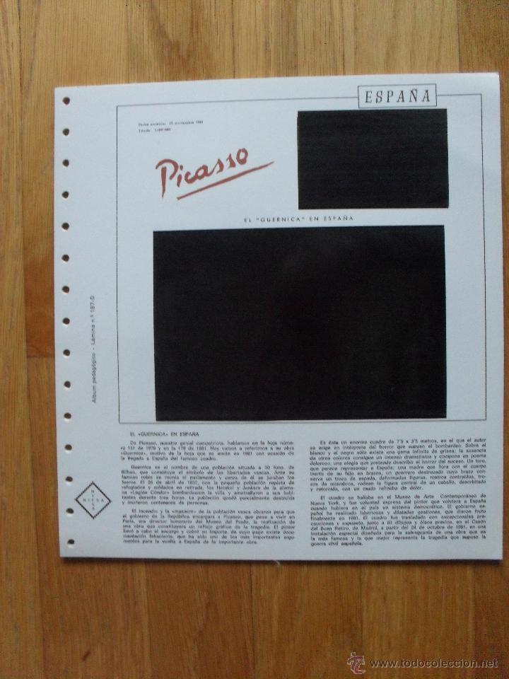 Sellos: HOJAS DE SUPLEMENTO AÑO 1981 Nifsa, Montadas en estuches negros VER FOTOS - Foto 10 - 40013999