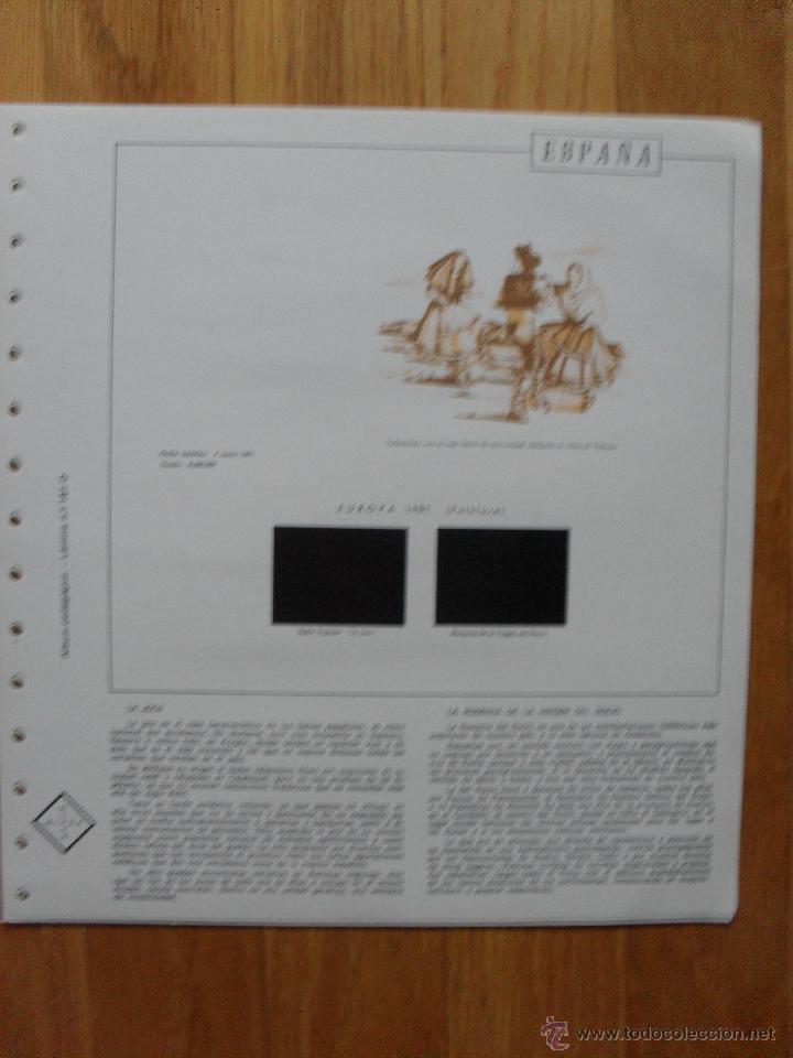 Sellos: HOJAS DE SUPLEMENTO AÑO 1981 Nifsa, Montadas en estuches negros VER FOTOS - Foto 12 - 40013999