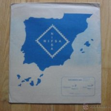 Sellos: HOJAS DE SUPLEMENTO 1985 NIFSA. MONTADAS EN ESTUCHES NEGROS,VER FOTOS. Lote 40025583