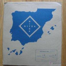 Sellos: HOJAS DE SUPLEMENTO AÑO 1983 NIFSA, MONTADAS EN ESTUCHES NEGROS VER FOTOS. Lote 40025887