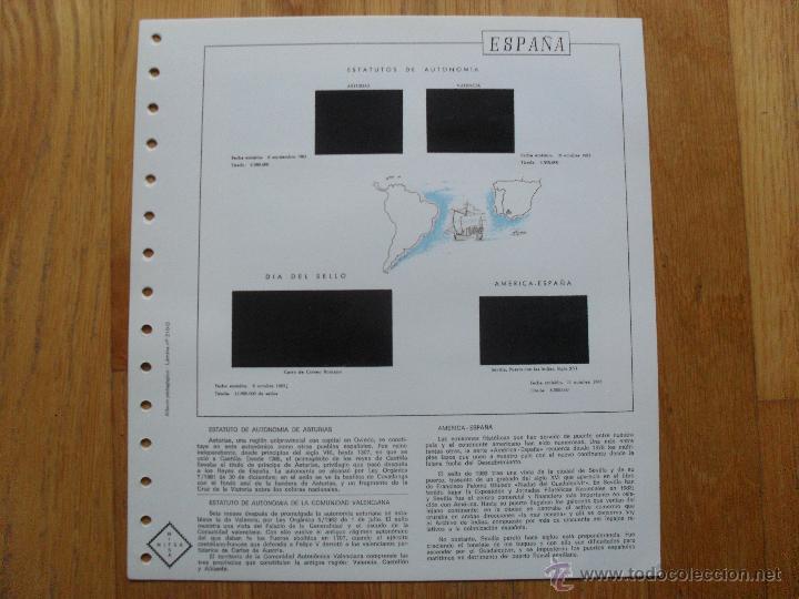 Sellos: HOJAS DE SUPLEMENTO AÑO 1983 NIFSA, MONTADAS EN ESTUCHES NEGROS VER FOTOS - Foto 5 - 40025887