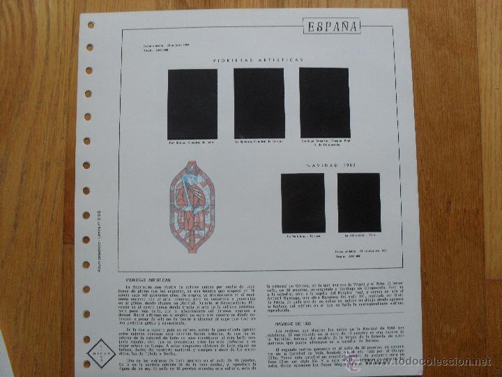 Sellos: HOJAS DE SUPLEMENTO AÑO 1983 NIFSA, MONTADAS EN ESTUCHES NEGROS VER FOTOS - Foto 8 - 40025887