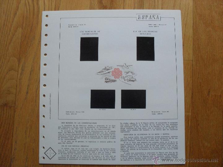 Sellos: HOJAS DE SUPLEMENTO AÑO 1983 NIFSA, MONTADAS EN ESTUCHES NEGROS VER FOTOS - Foto 12 - 40025887
