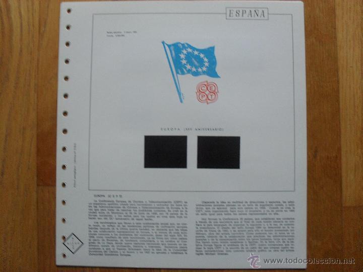 Sellos: HOJAS DE SUPLEMENTO 1984 NIFSA,Montadas en estuches negros, VER FOTOS - Foto 2 - 40026308