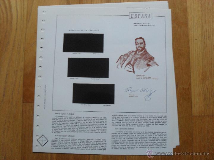 Sellos: HOJAS DE SUPLEMENTO 1984 NIFSA,Montadas en estuches negros, VER FOTOS - Foto 6 - 40026308