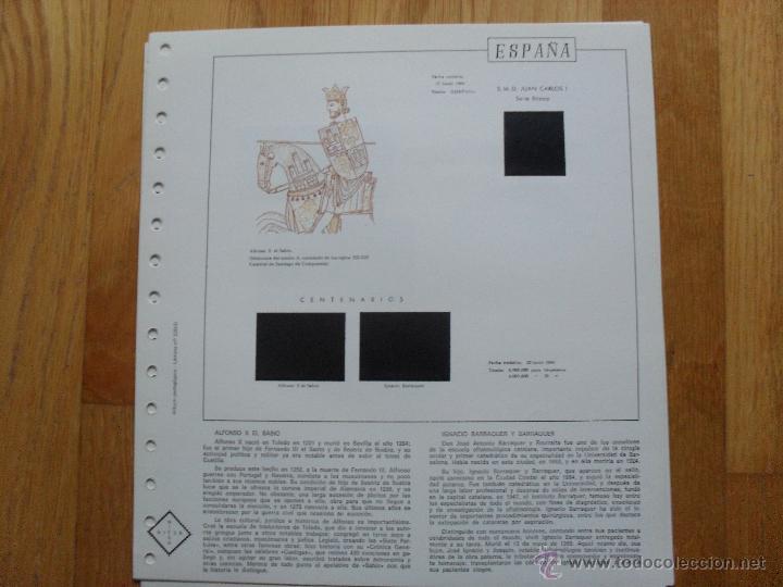 Sellos: HOJAS DE SUPLEMENTO 1984 NIFSA,Montadas en estuches negros, VER FOTOS - Foto 7 - 40026308