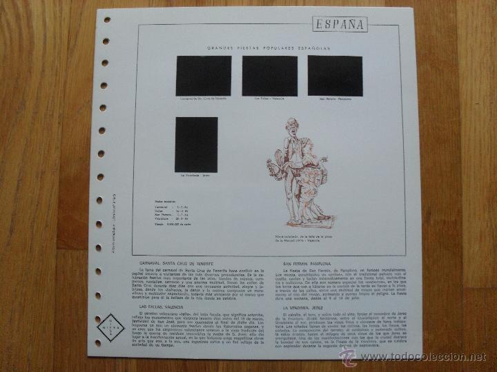 Sellos: HOJAS DE SUPLEMENTO 1984 NIFSA,Montadas en estuches negros, VER FOTOS - Foto 9 - 40026308