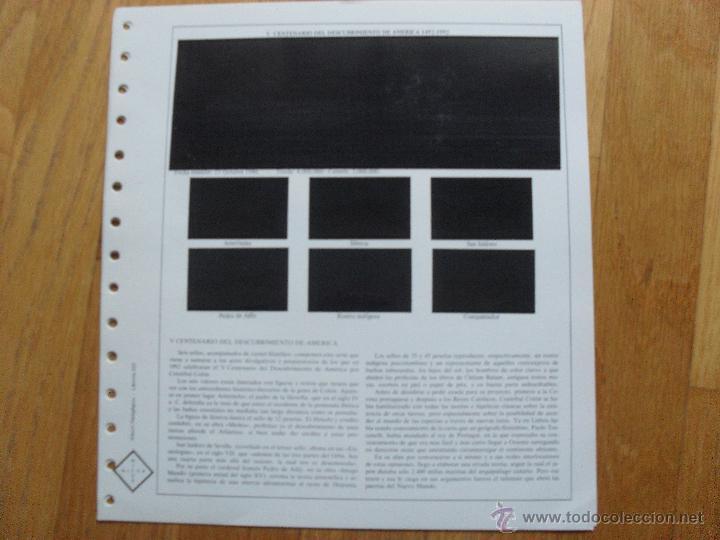 Sellos: HOJAS DE SUPLEMENTO AÑO 1986 NIFSA, Montadas en Estuches Negros VER FOTOS - Foto 5 - 40026647