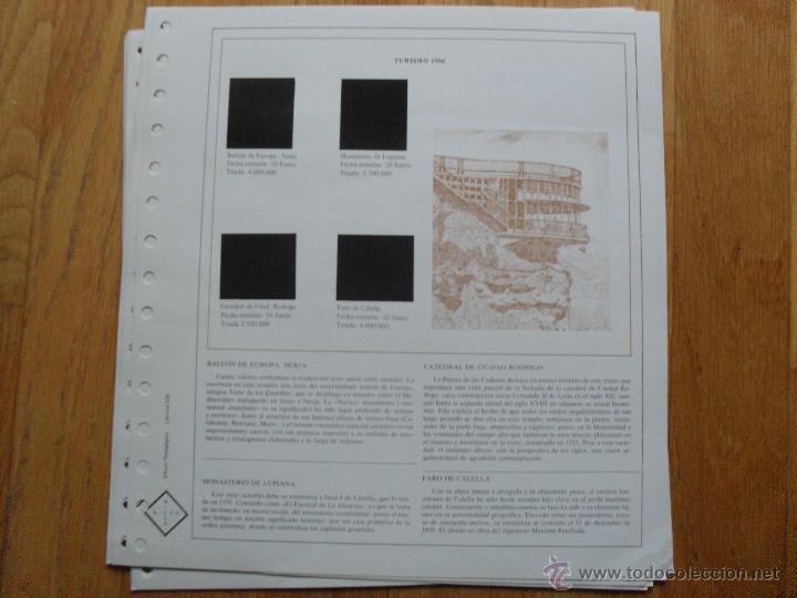 Sellos: HOJAS DE SUPLEMENTO AÑO 1986 NIFSA, Montadas en Estuches Negros VER FOTOS - Foto 9 - 40026647