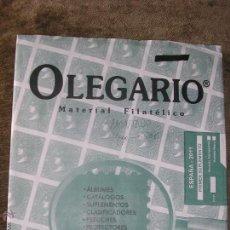 Sellos: SUPLEMENTO OLEGARIO 2011 1ª PARTE MONTADO CON FILOESTUCHES NEGROS. Lote 43887091