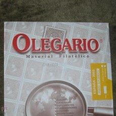 Sellos: SUPLEMENTO OLEGARIO 2003 1ª PARTE CON FILOESTUCHES MONTADOS EN NEGRO. Lote 43892269