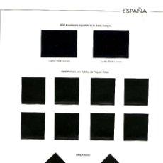 Sellos: AÑO 2002 HOJAS MONTADAS AÑO COMPLETO CON FILOESTUCHES EN NEGRO ANFIL (19). Lote 46552732