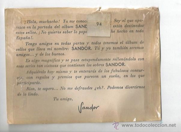 Sellos: ALBUM JUVENIL SANDOR SELLO R. P. ROMINA MELBOURNE ROMA 1960 OLIMPICO ANTORCHA NATACION WATERPOLO - Foto 2 - 53015095