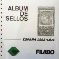 Sellos: HOJAS ESPAÑA - FILABO SEMI-NUEVOS AÑOS 1965-1974 FILOESCHUCHES EN NEGRO (FALTAN ALGUNOS POR PONER). Lote 54224766