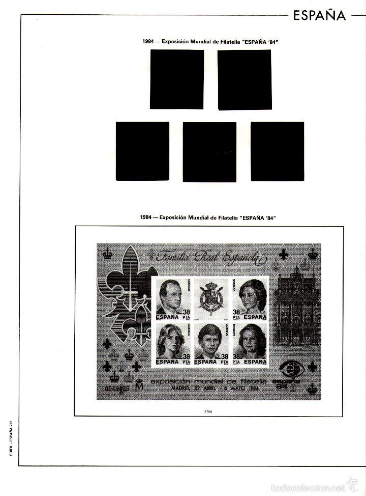 Sellos: AÑO 1984 HOJAS MONTADAS Y SIN MONTAR (7) EDIFIL-270-271-272-273-273A-274-275 - Foto 4 - 57219281