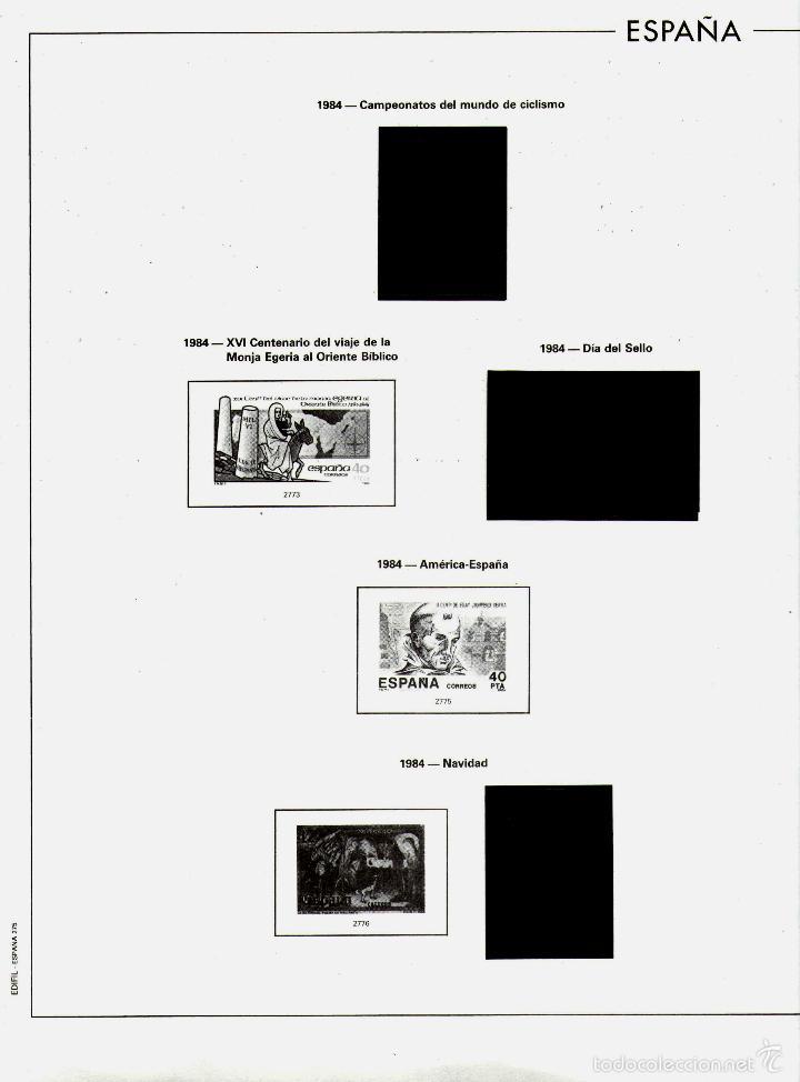 Sellos: AÑO 1984 HOJAS MONTADAS Y SIN MONTAR (7) EDIFIL-270-271-272-273-273A-274-275 - Foto 7 - 57219281
