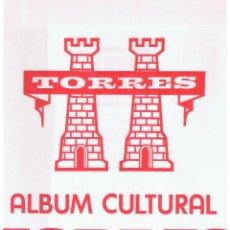 Sellos: ALBUM CULTURAL TORRES SIN MONTAR 12 SOBRES 7 AÑOS MD159. Lote 59085285