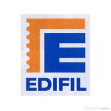 Sellos: EDIFIL SUPLEMENTO 1987 CON FILOESTUCHES MONTADO EN NEGRO CANTO DORADO. Lote 205330251