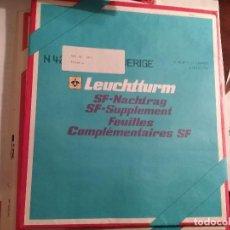 Sellos: LEUCHTTURM HOJAS AÑO 1990 ESPAÑA . Lote 105048375