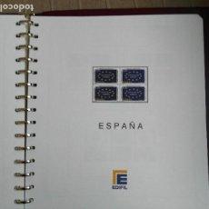 Sellos: SUPLEMENTO EDIFIL ESPAÑA AÑO 2005 EN BLOQUE DE CUATRO. MONTADO. LEER DESCRIPCION. Lote 113389367