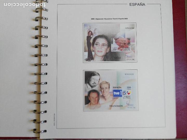 Sellos: SUPLEMENTO EDIFIL ESPAÑA AÑO 2000 EN BLOQUE DE CUATRO. MONTADO. LEER DESCRIPCION - Foto 3 - 113389967