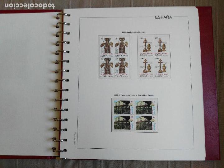 Sellos: SUPLEMENTO EDIFIL ESPAÑA AÑO 2000 EN BLOQUE DE CUATRO. MONTADO. LEER DESCRIPCION - Foto 7 - 113389967