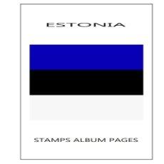 Sellos: SUPLEMENTO FILKASOL ESTONIA 2017 - COMPLETAMENTE ILUSTRADO COLOR ALBUM 15 ANILLAS (270X295). Lote 121666067