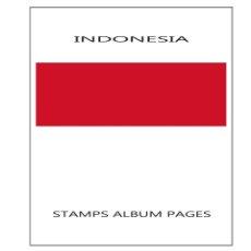 Sellos: SUPLEMENTO FILKASOL INDONESIA 2017 - COMPLETAMENTE ILUSTRADO COLOR ALBUM 15 ANILLAS (270X295). Lote 122031723