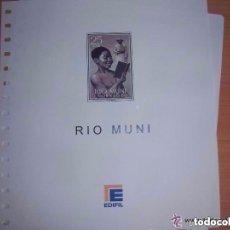 Timbres: HOJAS DE RIO MUNI, AÑO 1960 A 1968 (EDIFIL). Lote 131982290