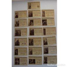 Sellos: ANTIGUAS POSTALES BIBLIOTECA FRANCISCANA. Lote 132615170