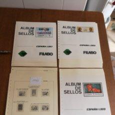 Sellos: HOJAS FILABO AÑOS 1985/87/88 Y 89.5€ CADA AÑO. Lote 132742399