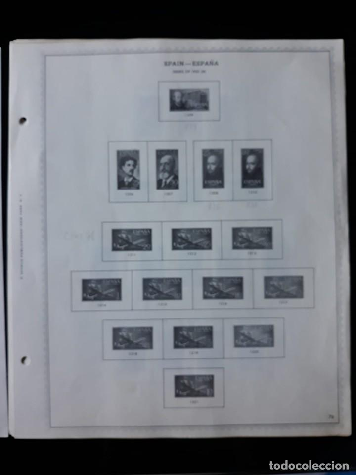 Sellos: HOJAS ESPAÑA PREIMPRESAS 1955 - 1962 MARCA MINKUS NEW YORK - Foto 2 - 137648098